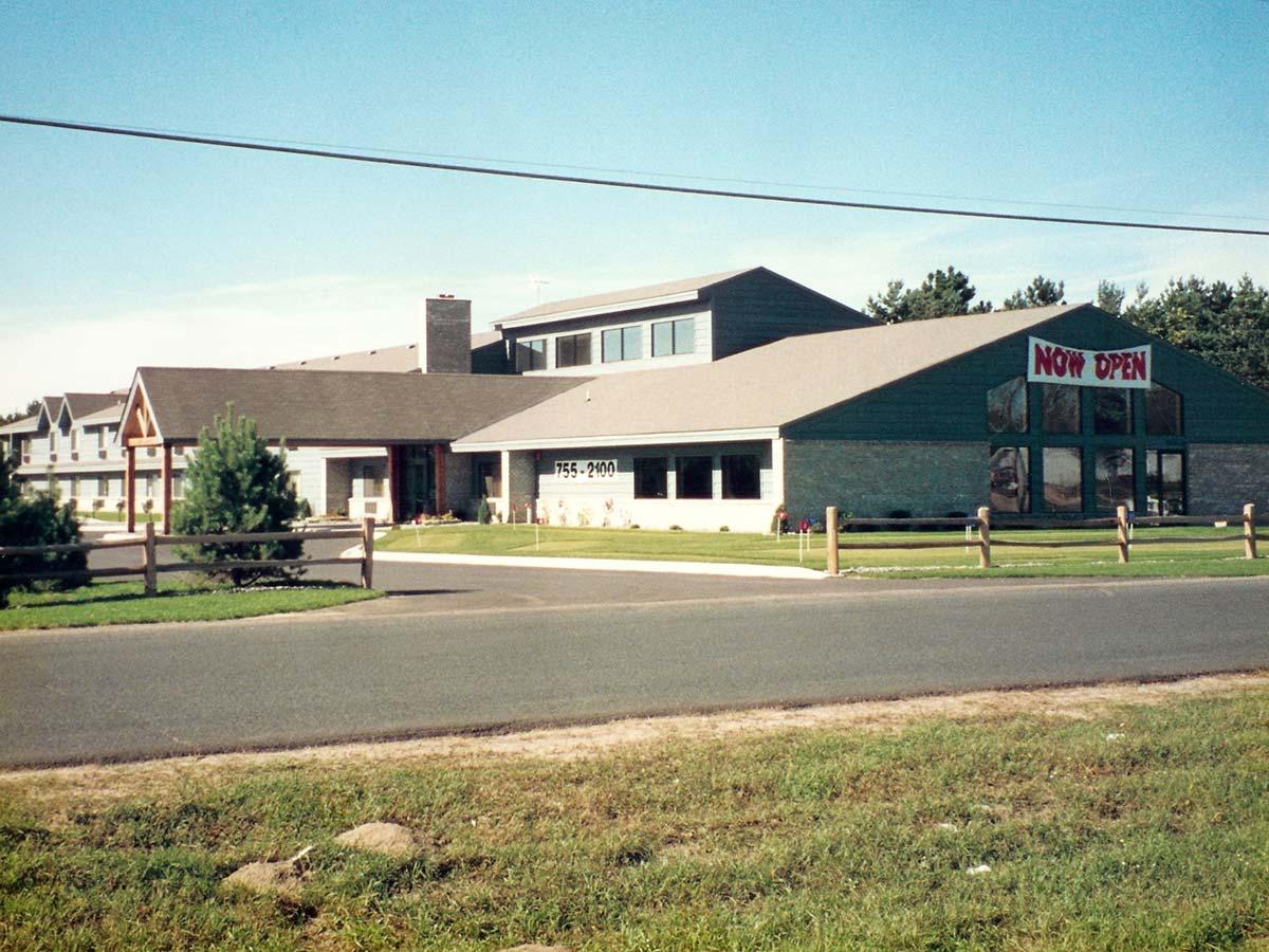 Exterior of AmericInn Motel
