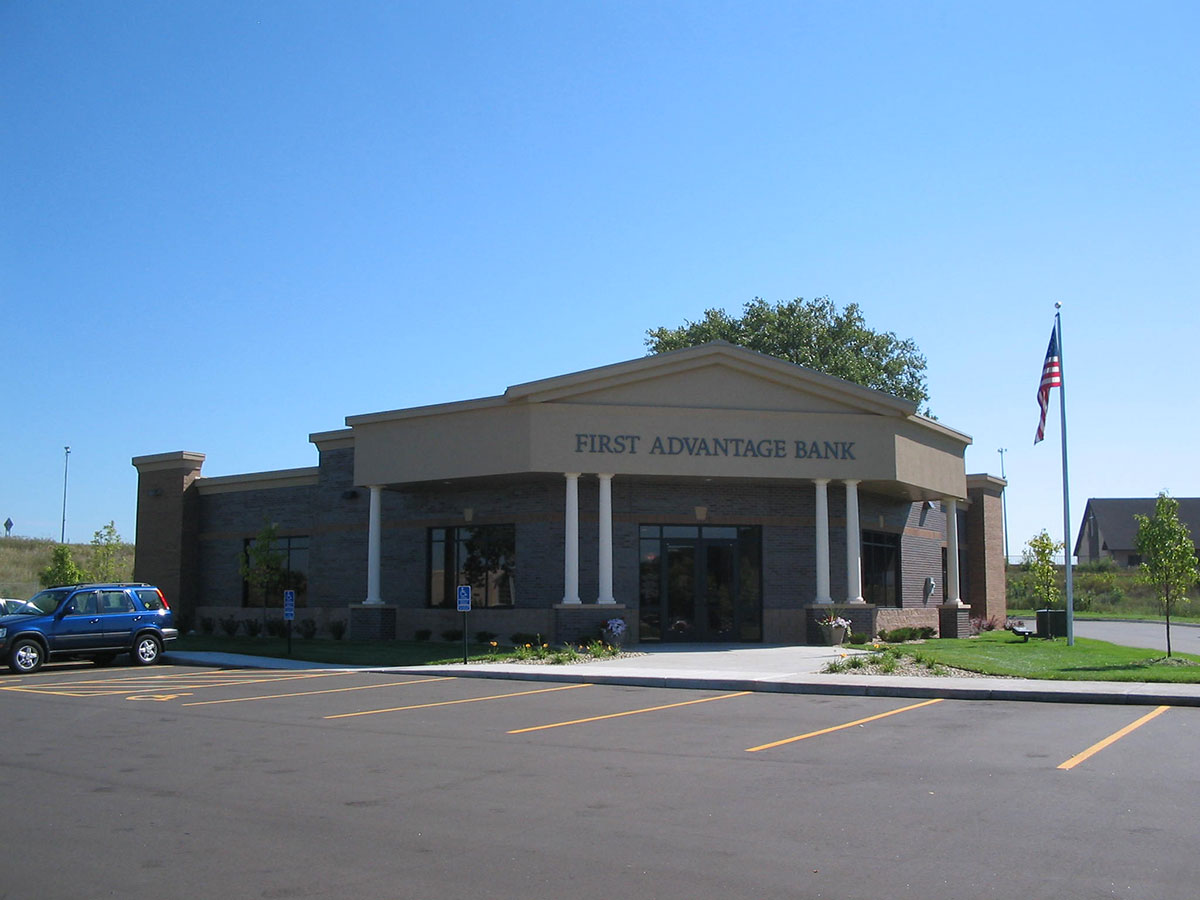 First Advantage Bank exterior of building